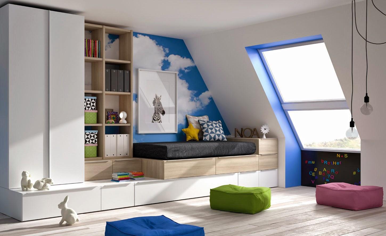 Dormitorios infantiles y juveniles para ni as ni os y for Dormitorios puente juveniles baratos