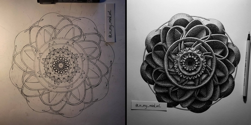 00-in-my-mind-art-Complex-Geometric-shapes-in-Ink-Stippling-Drawings-www-designstack-co