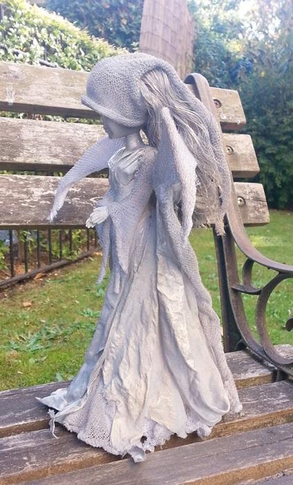 tekstylny aniol