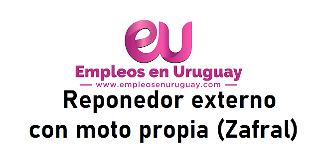 Reponedor externo con moto propia (Zafral)