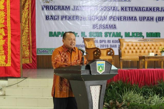 Sosialisasi Bpjs Ketenagakerjaan Di Padang Panjang