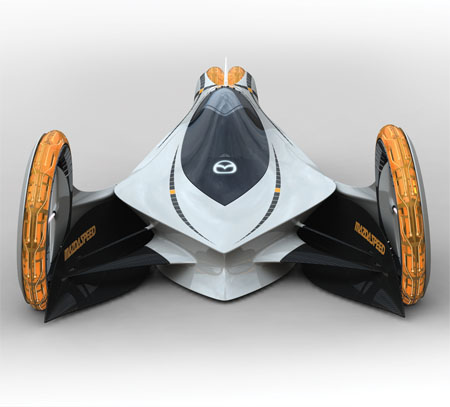 Mazda Kaan Futuristic Electric Car Concept To Compete