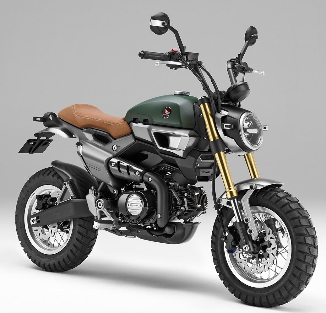 Custom 2016 Honda Grom Scrambler 1 And 2 Phnom Penh Motors