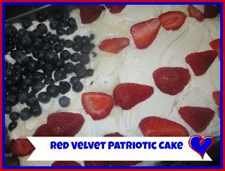 cake flag cake patriotic cake