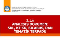 Materi Sosialisasi Lengkap Kurikulum 2013 Jenjang SD 2016