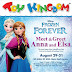 Event alert : Meet and Greet Disney Frozen's Anna and Elsa this August 29-31 2015!