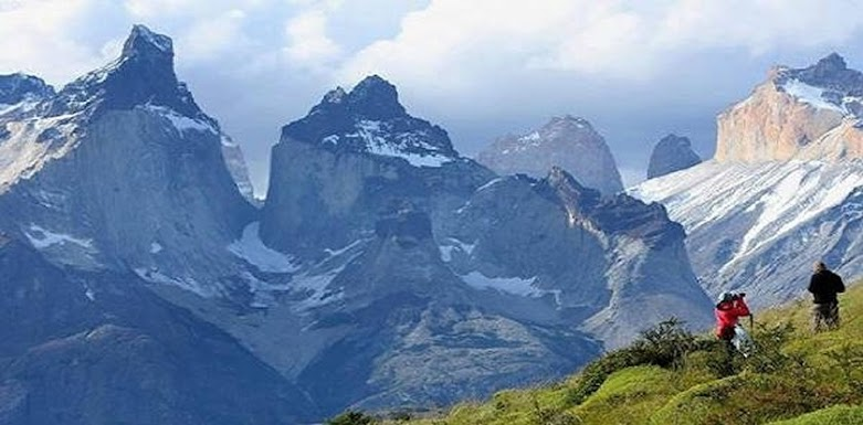 A view of Torres del Paine National Park.
