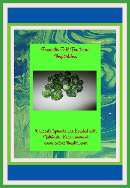 Brussels sprouts, fall nutrition powerhouse