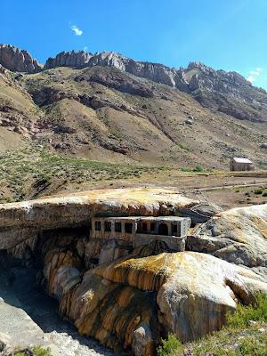Puente del Inca Mendoza, hotel en ruinas