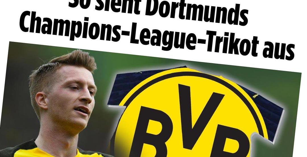 7aaf3a759cd Borussia Dortmund 19-20 Champions League Kit Leaked - Footy Headlines