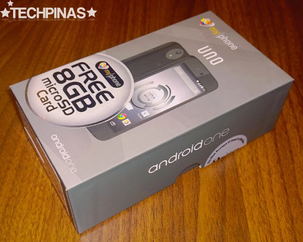 MyPhone Uno, Android One, Android One Philippines, MyPhone Android One