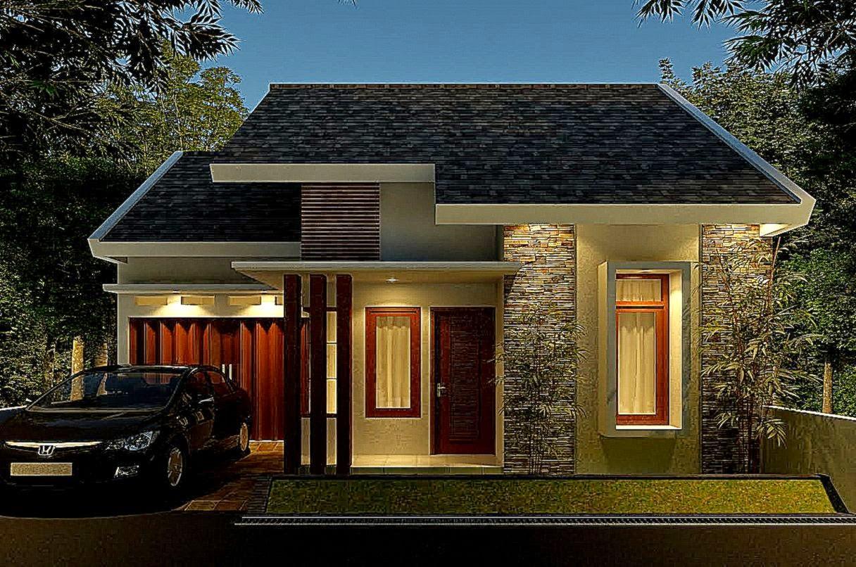 66 Desain Rumah Minimalis Satu Lantai Desain Rumah
