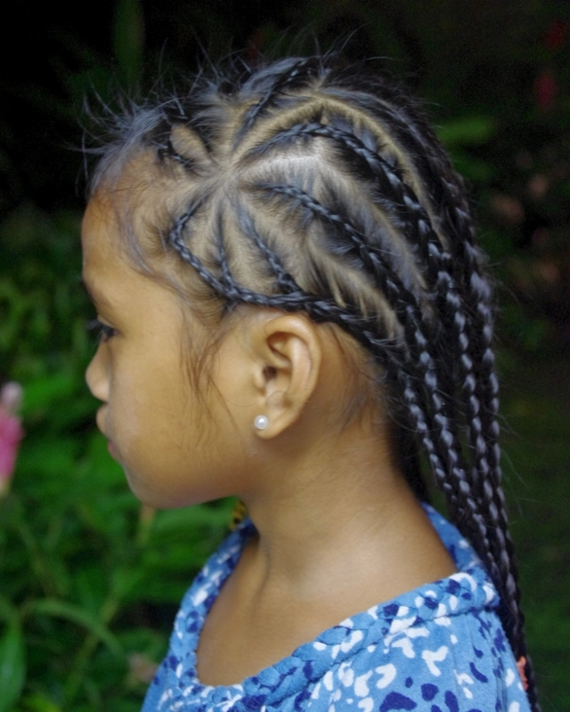 Braids & Hairstyles For Super Long Hair: Micronesian Girl
