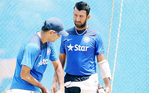 Pujara said - amazing ability in Dravid