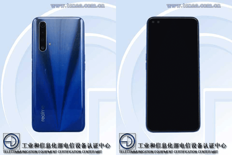 Realme X50 Youth Edition with full specs appears on TENAA