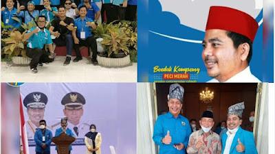 Musda KNPI Provinsi Riau XIV Pekanbaru - Pelalawan 1 - 2 April 2021 Tiga Calon Bersatu Untuk Nasaruddin SH MH