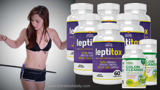 Unboxing Review Weight Loss Leptitox