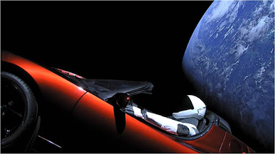 Tesla SpaceX Spaceman