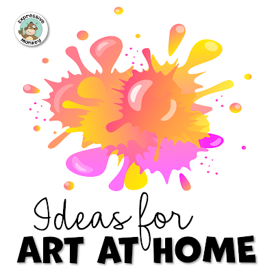 Are you looking for art lessons for kids to do at home?  Here are some at home art lessons that your kids will love! Some that could involve the whole family in making art at home.