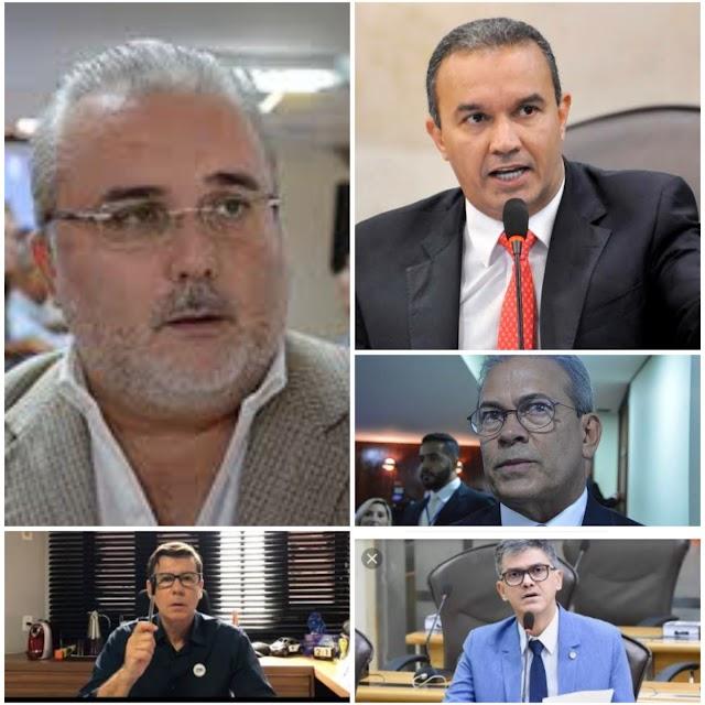 Candidatos de mentirinha: Kelps, Azevedo, Hermano e Jean disputam a Prefeitura de Natal apostando no recall para 2022
