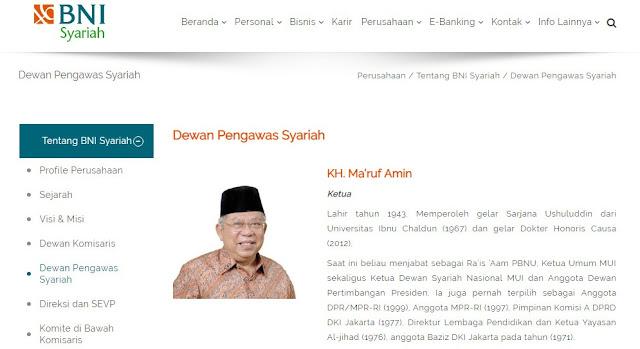 Maruf Terdaftar Sebagai Pejabat BUMN Saat Pilpres 2019, BW: Jokowi-Maruf Harus Didiskualifikasi!