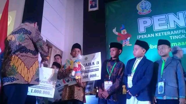 Raih Juara 3 Nasional PAI, Pelajar SD di Nan Sabaris Harumkan Padangpariaman