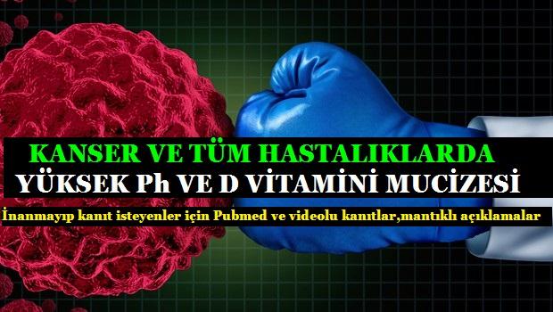 Vücudunuzun Ph'ı Yüksek Olursa Kanserden Bile Kurtulmak Mümkün...