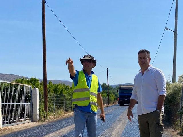 Εργασίες συντήρησης οδοποιίας στο Δήμο Ναυπλιέων
