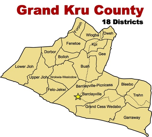 Image result for grand kru county