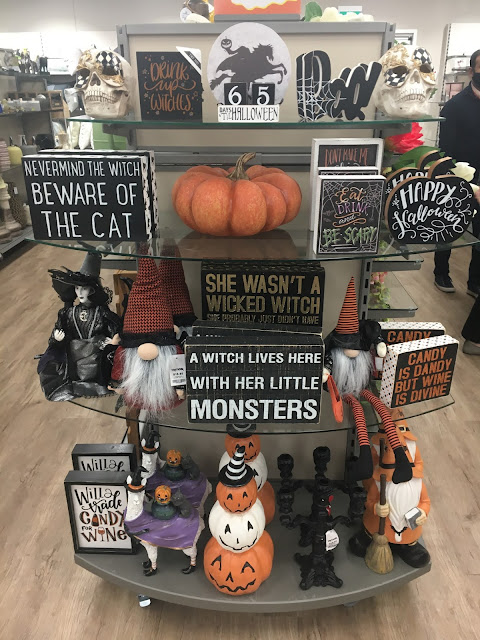 Halloween Decor at TK Maxx