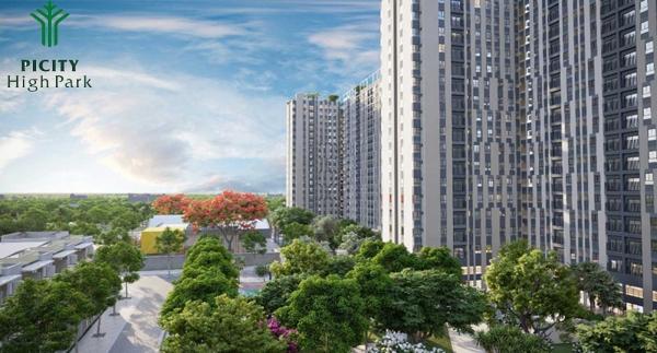 Picity High Park  100% căn hộ đều hứng trọn nguồn gió và ánh sáng tự nhiên