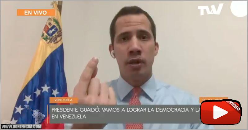 Juan Guaidó asegura que este es el inicio del nuevo Show Electoral de Maduro