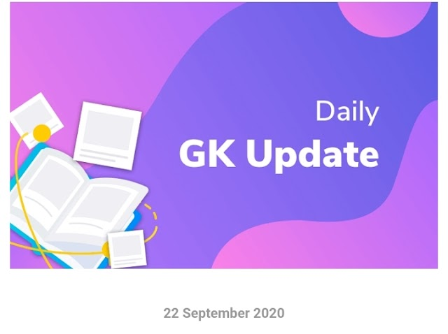 22 September 2020 Full Current Affairs/ Current Affairs in Kannada/20 September 2020 Current Affairs Chanakyaloka