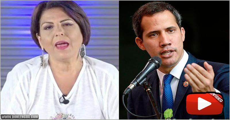 TRABAJA PARA EL RÉGIMEN | Patricia Poleo monta la escena de Macuto contra Juan Guaidó