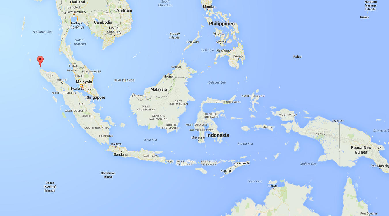 Image result for sabang island map