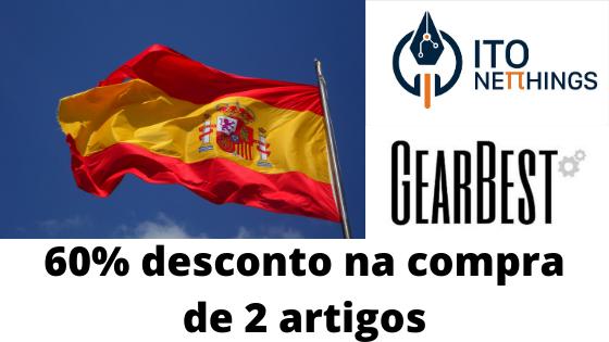 60% Desconto Armazém Espanhol na compra de 2 unidades!