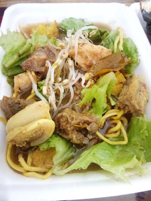 Rujak soto, makanan khas Jawa Timur