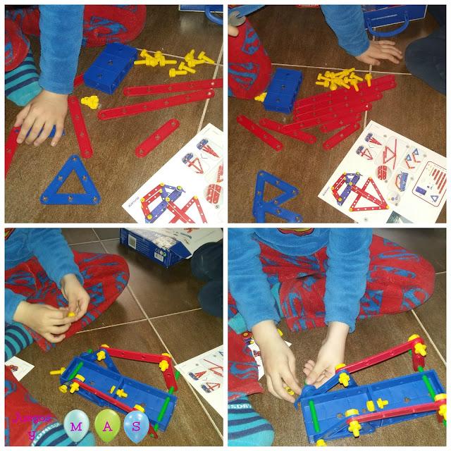 mecaniko activity, miniland, de 3 a 7 años, juguetes, juegos de construccion, piezas