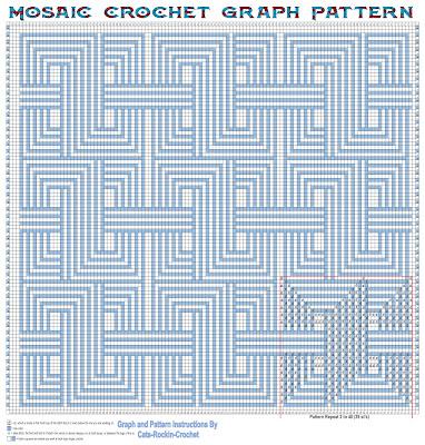 mosaic crochet puzzle