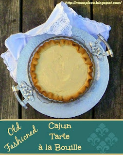 Old Fashioned Cajun Tarte à la Bouille