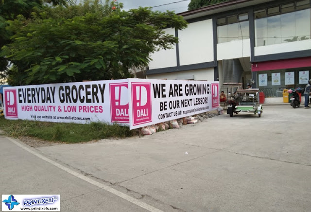 Tarpaulin Signage - DALI Everyday Grocery
