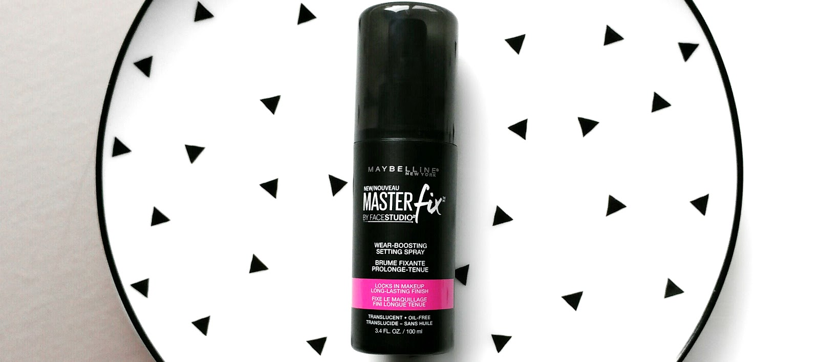 Maybelline Master Fix Setting Spray Review and Demo