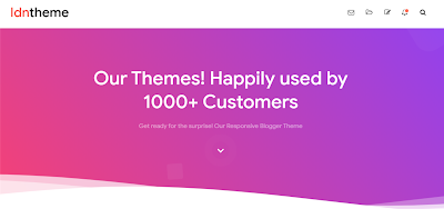 Download Gratis Template Blogger IDNTheme Redesign Premium