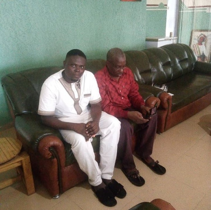 Aborode Oyeniyi of NEYOCHIN EVENTS Meets With Ashiwaju Fadairo, And CEO/MD Ladart Production of Oyo State Photos2