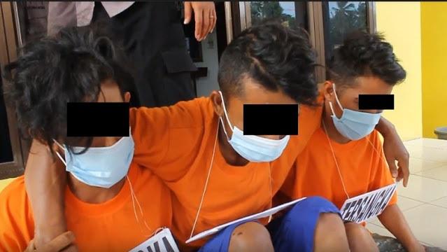 Keji! 3 Perampok di Paluta Perkosa Korban di Depan Suami secara Bergantian