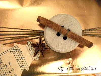 Pacchetto regalo per Natale Natural Glam - dettaglio 2 - My Little Inspirations