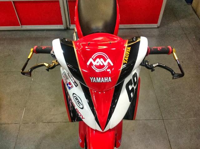 Yamaha Lagenda Z CP130 Maju Motor Racing
