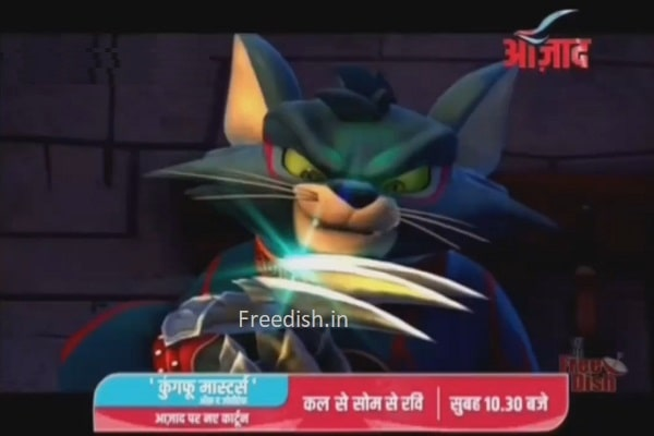 Watch Kung fu master of the zodiac cartoon, Azad TV channel, Azad TV Cartoon Shows
