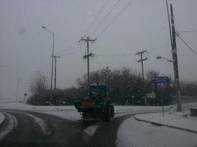 Σε πλήρη ενεργοποίηση ο μηχανισμός του Δήμου Κατερίνης, για την αποτελεσματική αντιμετώπιση του χιονιά