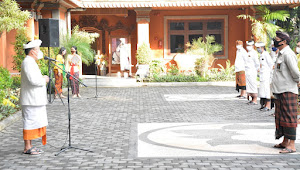 """Waspadai Penyebaran Covid 19 Di Klaster Perkantoran"". Sekda Rai Iswara : Protokol Kesehatan Yang Utama, Jaga Etos Kerja, Produktif dan Aman Covid 19."